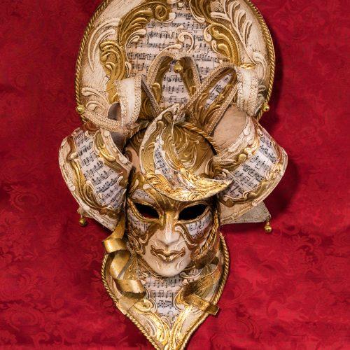 Maschera Veneziana MagicMoon Dorato