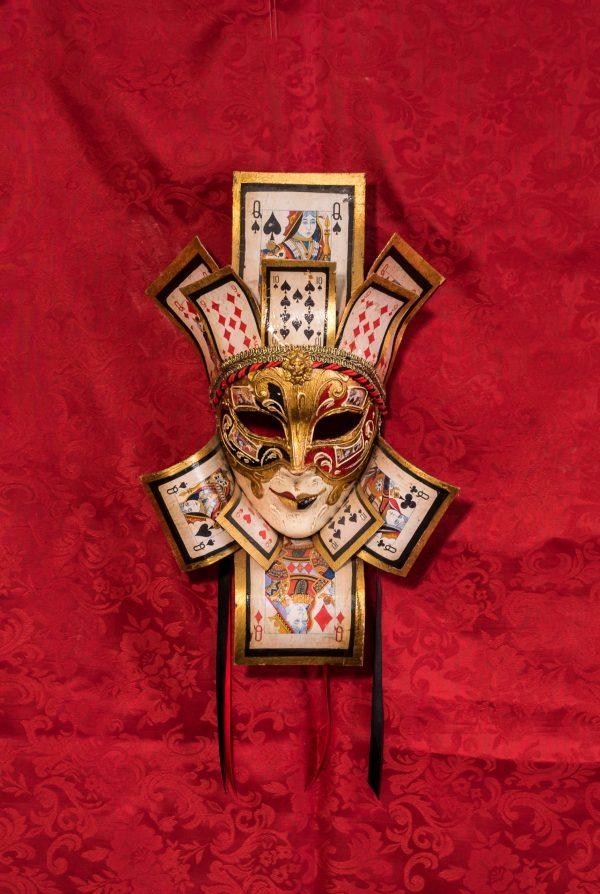Maschera Veneziana Jolly Regina Poker
