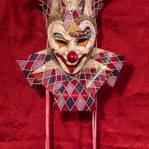 Maschera Veneziana Clown